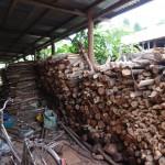 烧饭用的柴